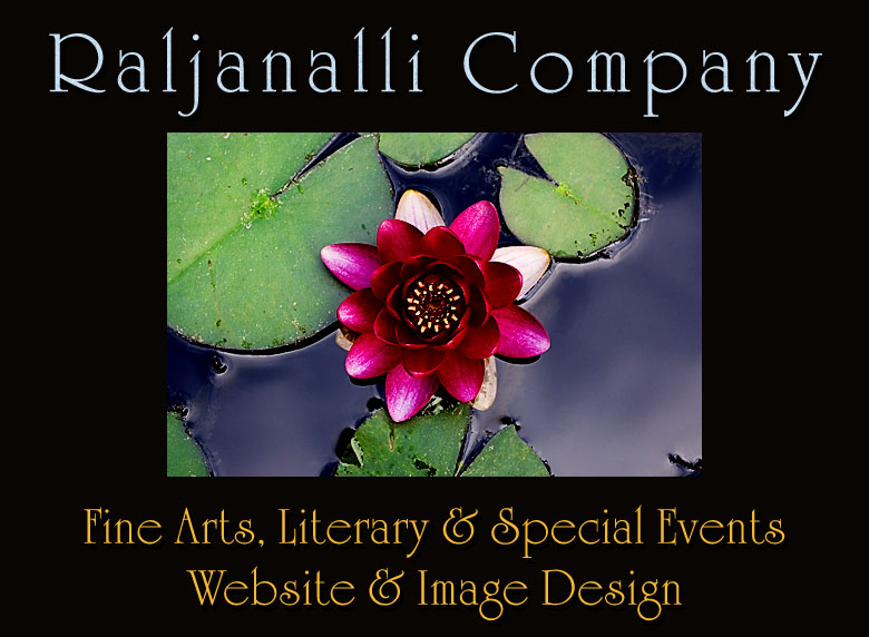 Raljanalli Company - Fine Arts, Literary & Special Events Website and Image Design